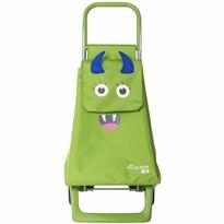 Rolser Detská nákupná taška na kolieskach Monster MF Joy-1700, zelená