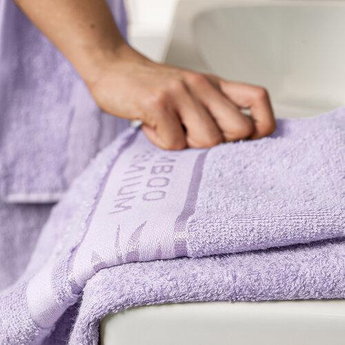 4Home Sada Bamboo Premium osuška a ručník světle fialová, 70 x 140 cm, 50 x 100 cm