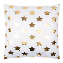 Vankúšik Gold De Lux Hviezdy, 43 x 43 cm