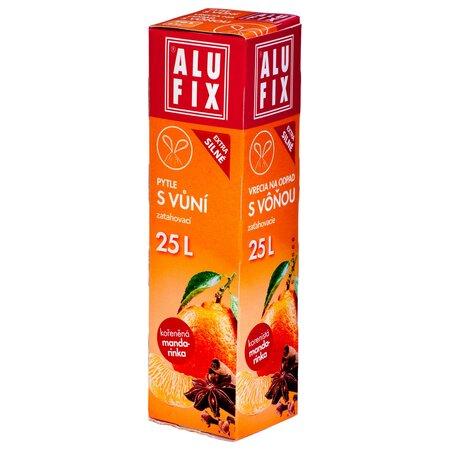Alufix Vrecia na odpad s vôňou mandarínky, 25 l