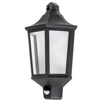 Rabalux 8980 Rosewell Vonkajšie LED nástenné svietidlo, čierna