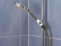 Digitální teploměr na sprchu
