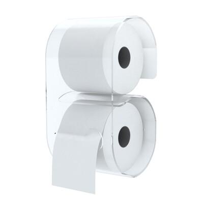 Zásobník B-Roll pro toaletní papír, transparentní