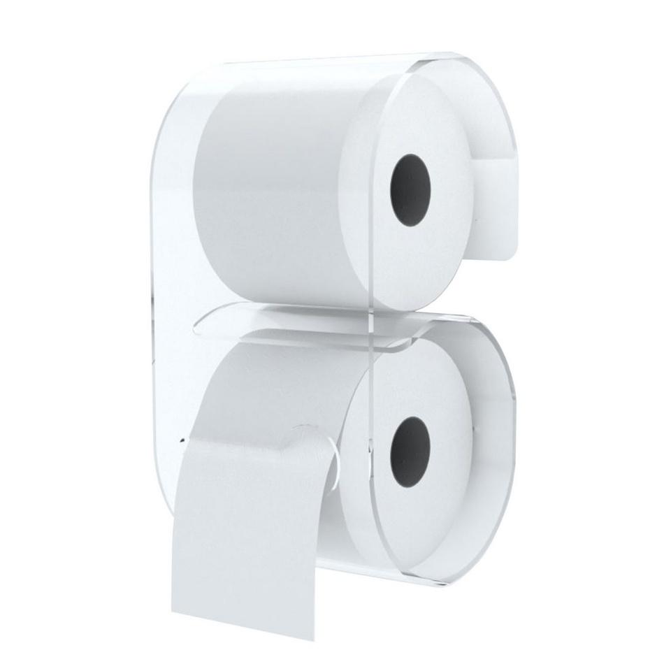 Neon Libving Zásobník B-Roll pre toaletný papier, transparentný