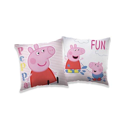 Jerry Fabrics Vankúšik Peppa Pig 041, 40 x 40 cm