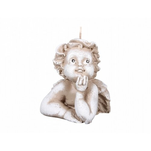 Świeczka świąteczna Aniołek Rafael