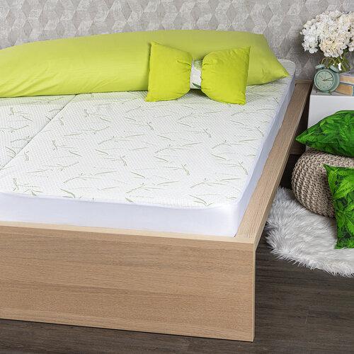 4Home Bamboo Nepropustný chránič matrace s lemem, 60 x 120 cm + 15 cm