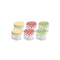 Tescoma DELLA CASA befőttes üveg, 125 ml, 6 db
