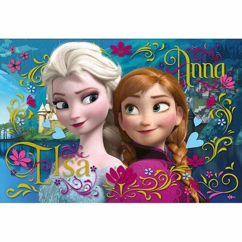 Puzzle Trefl Ledové království Anna a Elsa 100 dílků