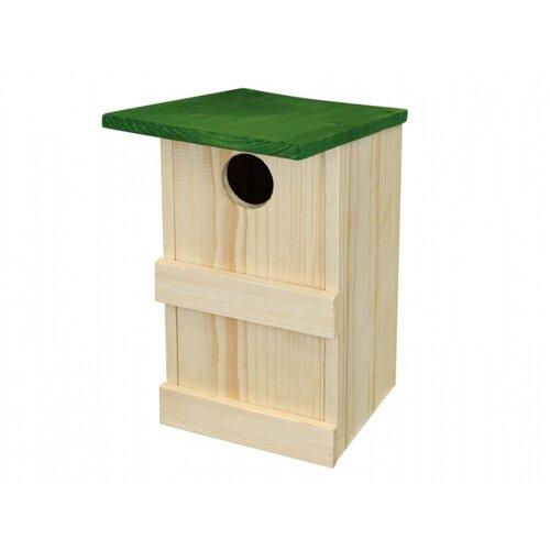 Drevená vtáčia búdka Škorcovník Č.8, 26 x 16 x 15,5 cm