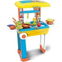 Buddy Toys BGP 3015 Dětský kufr Deluxe kuchyňka, 25 ks