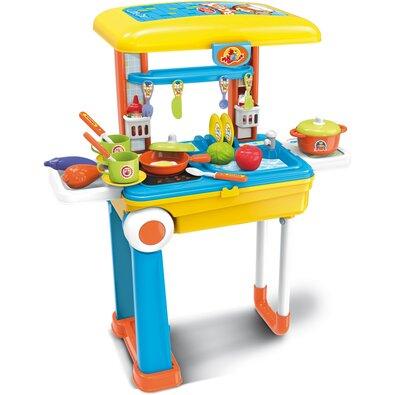 Buddy Toys BGP 3015 Detský kufor Deluxe kuchynka, 25 ks