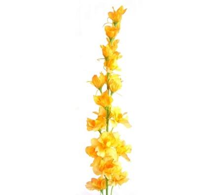 Umělá květina Stračka žlutá