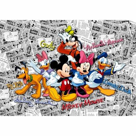 Dětská fototapeta XXL Mickey Mouse 360 x 270 cm , 4 díly