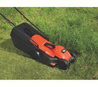 Elektrická rotační sekačka Black & Decker EMAX 32S, červená