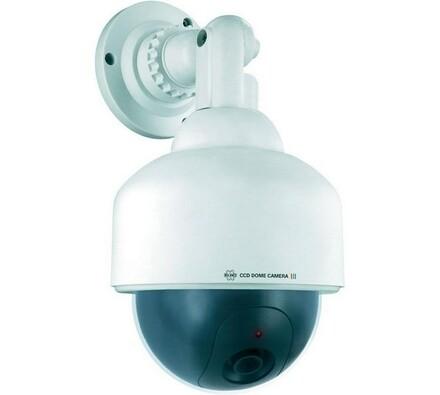 Atrapa kamery, dome Elro CS88D, Conrad, bílá, 13,5 x 25,5 x 13,5 cm