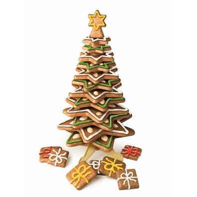 Tescoma Souprava vykrajovátek vánoční stromeček