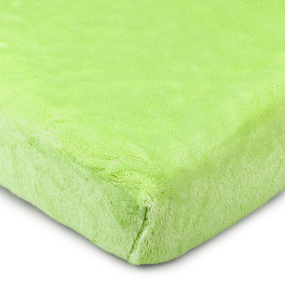 4Home prestieradlo mikroflanel zelená, 160 x 200 cm