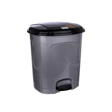 Orion Coș de gunoi cu pedală 5,5 l, gri