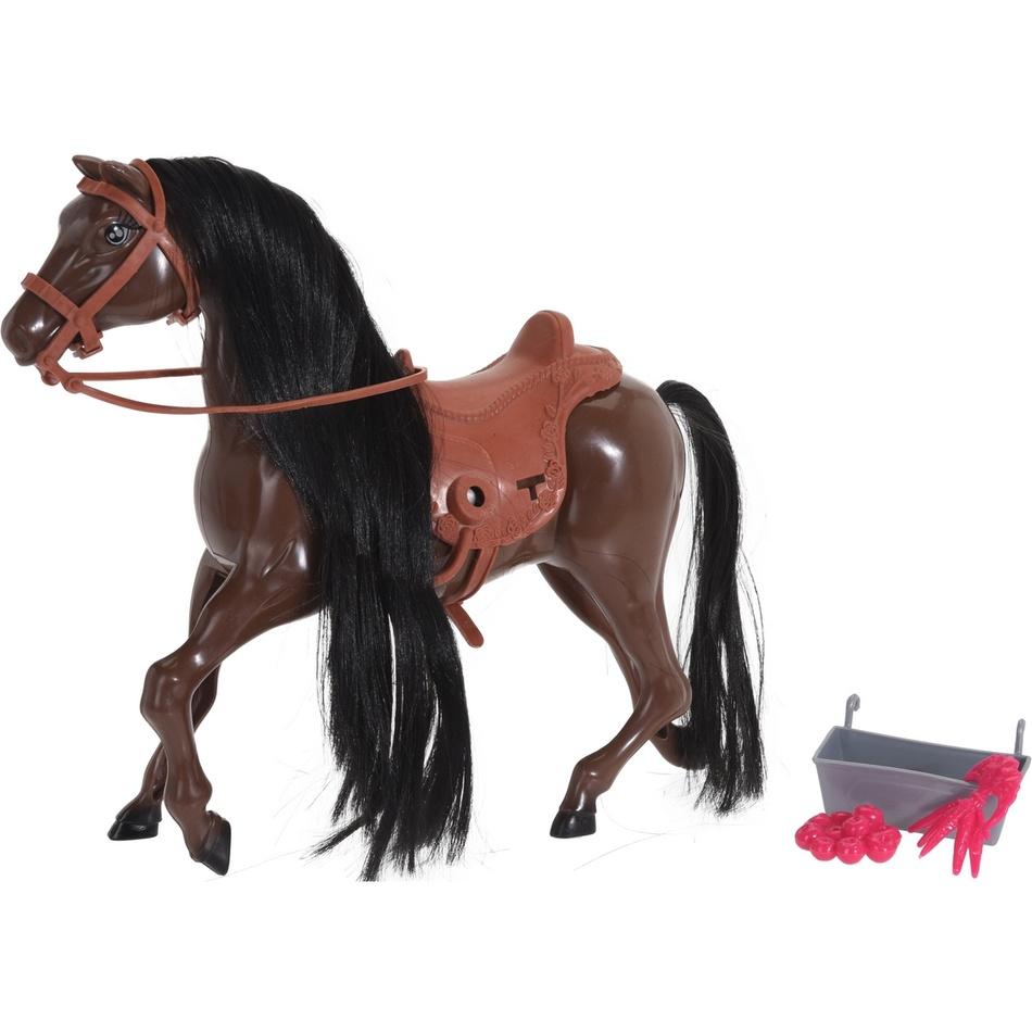 Fotografie Dětský hrací set Chovatel koní, 28 x 26 x 7 cm