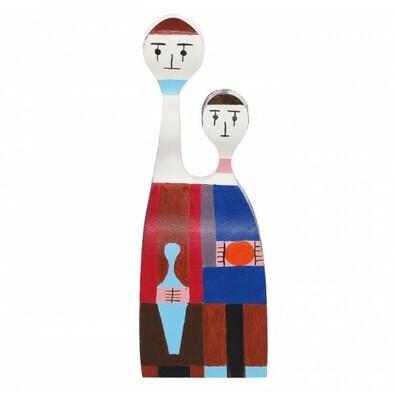 Dřevěná panenka GIR 20 cm č. 11, barevná
