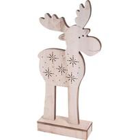 Koopman Artie karácsonyi rénszarvas, 5 LED-es, 30,5 cm