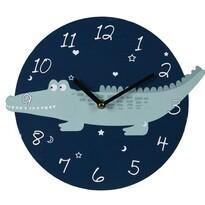 Nástěnné hodiny Krokodýl, pr. 28 cm