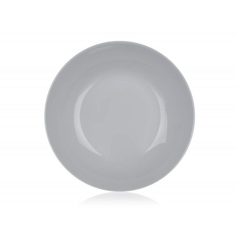 Luminarc Talíř hluboký DIWALI 20 cm, 6 ks, šedá