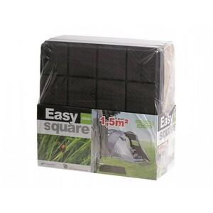 Dlaždice zahradní EASY SQUARE 40x40x2cm 6ks IES40 černá