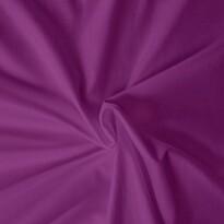 Saténové prostěradlo tmavě fialová, 120 x 200 cm