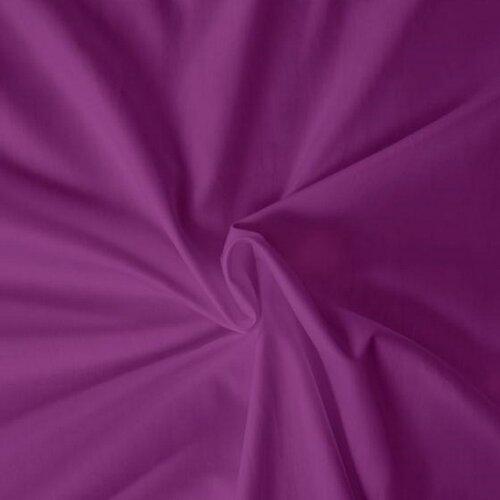 Kvalitex prostěradlo satén tmavě fialové