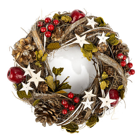 Vánoční věnec Atascadero, pr. 25 cm