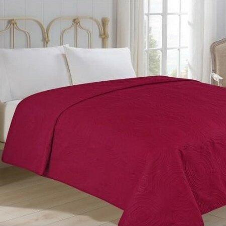 Royal bordó ágytakaró, 220 x 240 cm