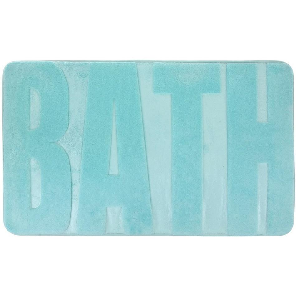 Koopman Koupelnová předložka Bath tyrkysová, 45 x 75 cm