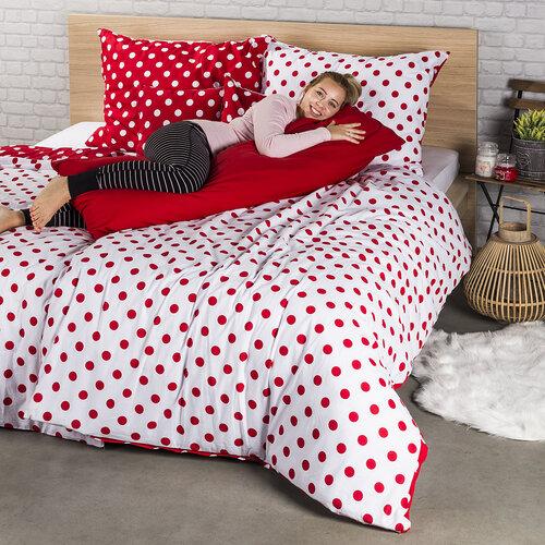 4Home Obliečka na Relaxačný vankúš Náhradný manžel červená, 55 x 180 cm