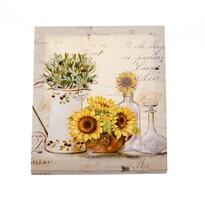 Obraz na płótnie Bouquet of sunflowers, 25 x 30 cm