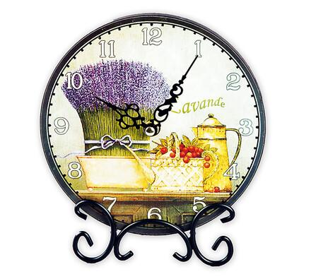 Pokojové hodiny Levandule