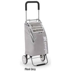 Flexi Nákupní taška na kolečkách šedá