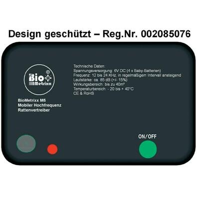Odpuzovač myší a potkanů BioMetrixx M5