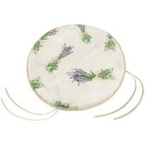 Sedák Ema kulatý hladký Svazek levandule, 40 cm
