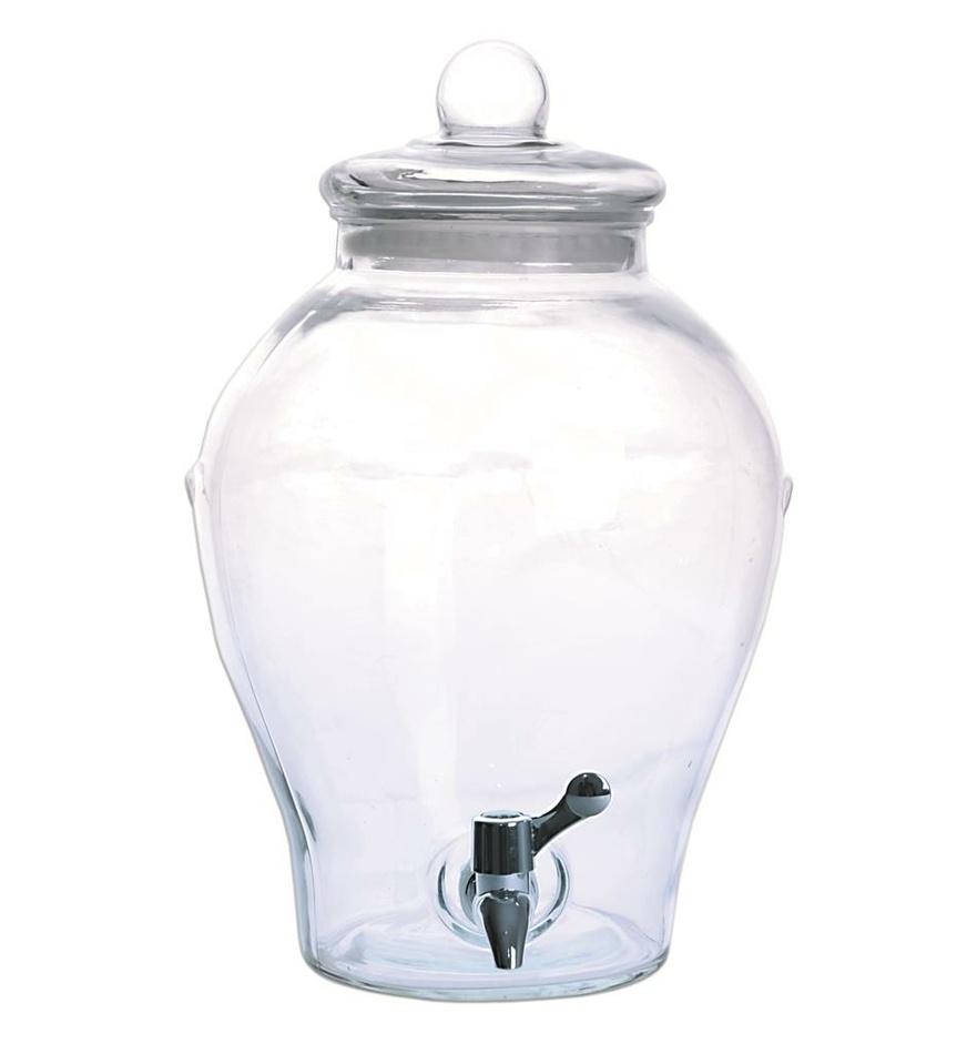 Orion Fľaša sklo+kohútik APPLE, 6,5 l