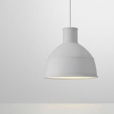 Lustr Unfold 32,5 cm, světle šedý