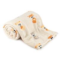 Pătură 4Home Soft Dreams Little Fox, 150 x 200 cm