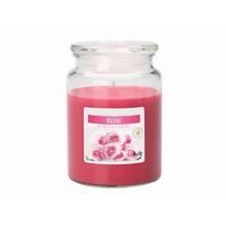 Vonná svíčka ve skle Růže, 500 g
