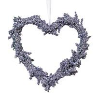 Inimă Lavandă diametru 15 cm