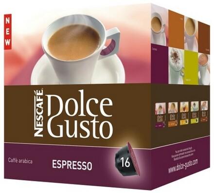 Kapsle Dolce Gusto, Espresso, 16 ks, Nescafé
