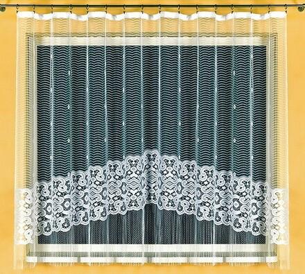 Záclona Stella, 300 x 160 cm, bílá, 300 x 160 cm