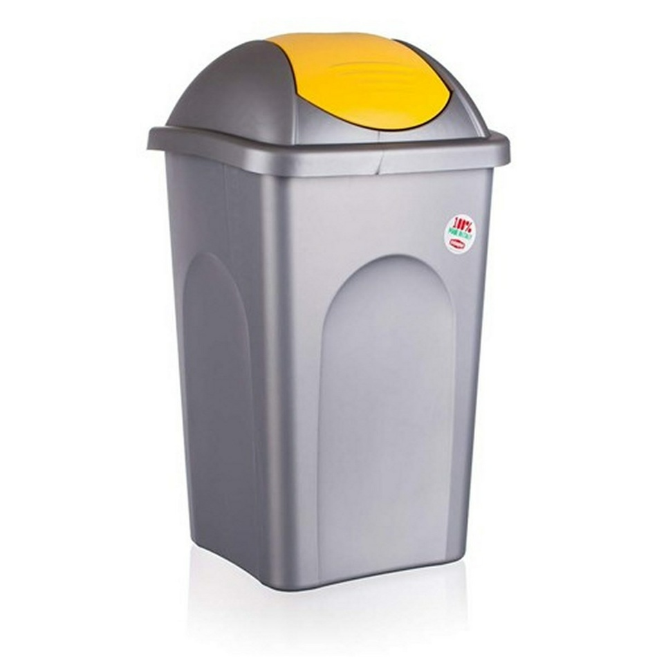 Multipat odpadkový kôš 60 l žltá 5570155 vetro-plus