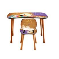 Stolik dziecięcy z krzesełkiem Czytanie, 90 x 52 x 60 cm