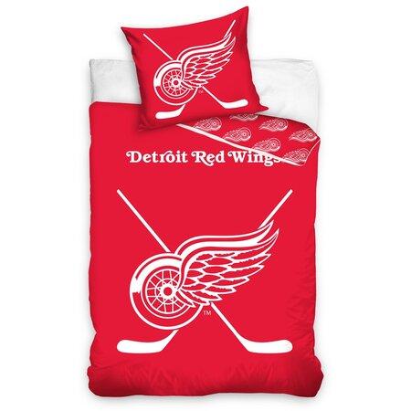 Bavlnené svietiace obliečky NHL Detroit Red Wings, 140 x 200 cm, 70 x 90 cm